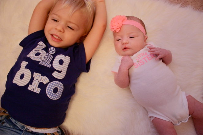 big-bro-little-sister-one-month